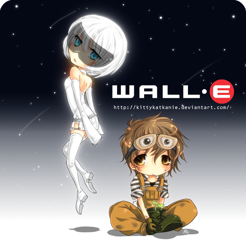 Wall E Cartoon Characters : Disney art blocks wall e eve by kittykatkanie on deviantart