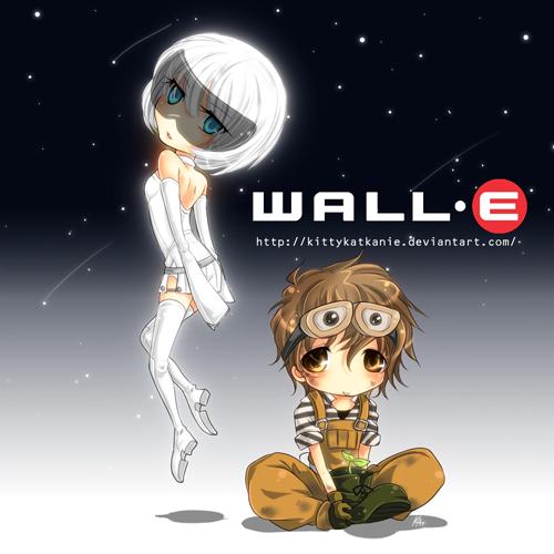 Disney Art Blocks WALLEEVE by kittykatkanie on DeviantArt