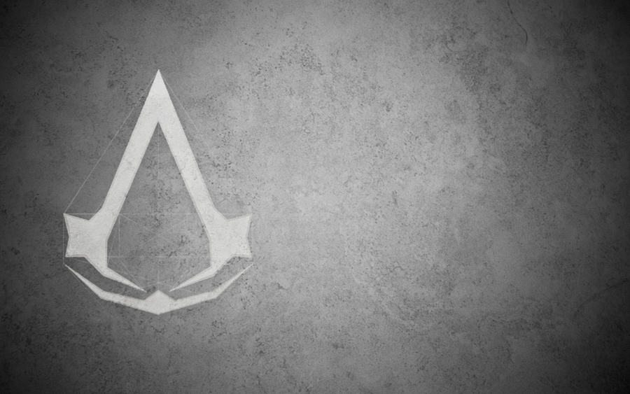 assassins creed logo wallpaper by younggeorge on deviantart