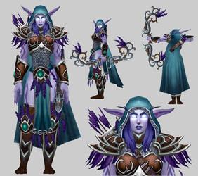 Shandris Feathermoon model 2.0 by arcane-villain