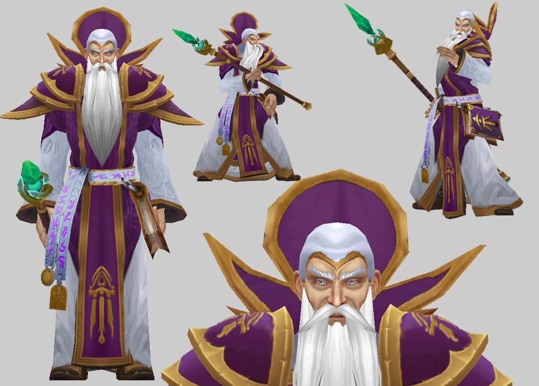 Antonidas model for Warcraft 3 by arcane-villain on DeviantArt