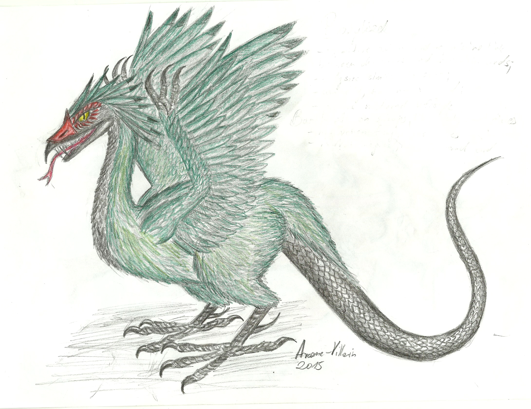 Basilisk Drawings Pictures to Pin on Pinterest - PinsDaddy