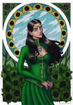Contest entry: Va'ardalia Silvanos by arcane-villain