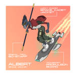Space Monkey Albert - Radical Racer