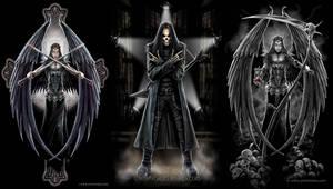 Dark Angels And Goth Rock