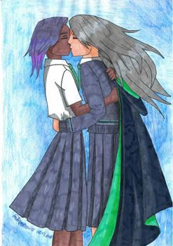 Irena y Cassandra version Hogwarts