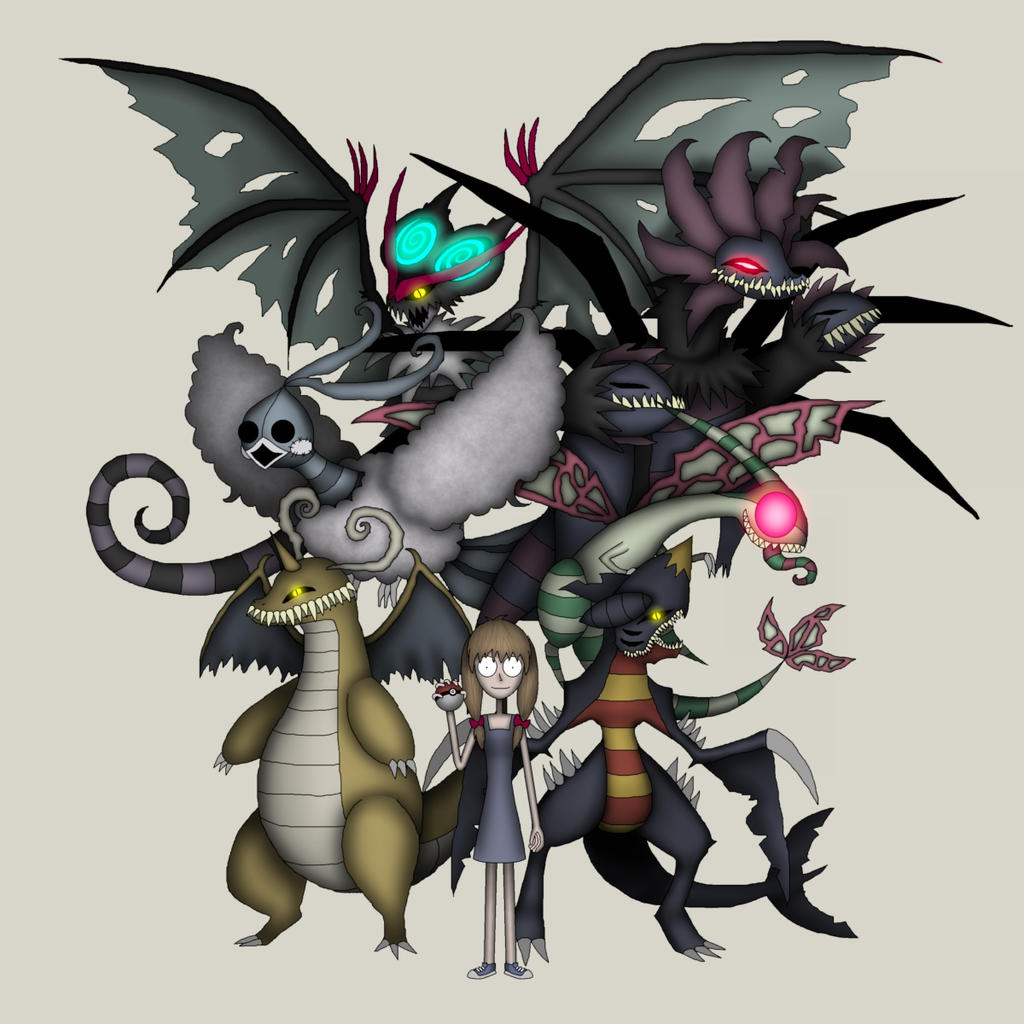 requested dragon type pokemon team by diasapacibles on deviantart
