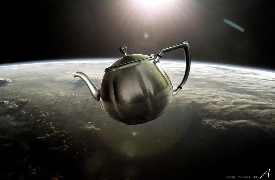 Bertrand Russell's Teapot by davidraphael