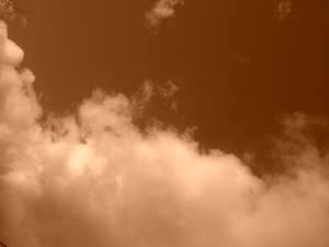 Clouds-Sepia