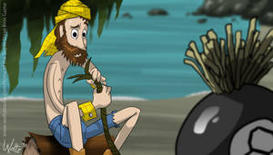 Woody in Cast Away