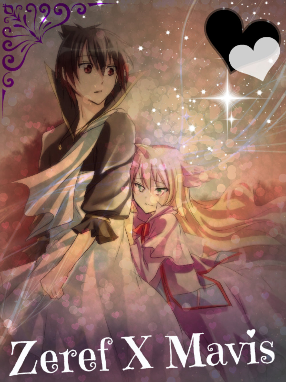 fairy tail zeref and mavis relationship problems