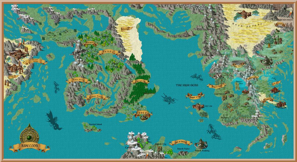 Makoto Mitsunari's Divinity map