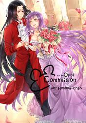 Commission couple for Honoka--chan