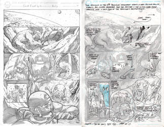 New Kubert School HW + remarks by Ejay32