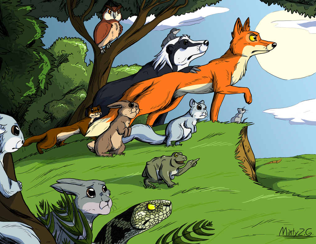 the animals of farthing wood ending relationship