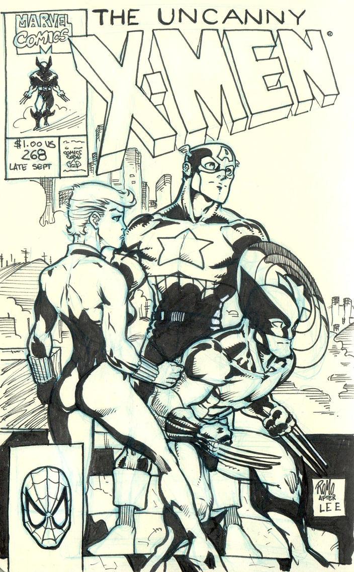 Uncanny X-Men #268 by ROMOnonsense