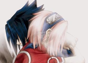 sakura and sasuke by garyff92