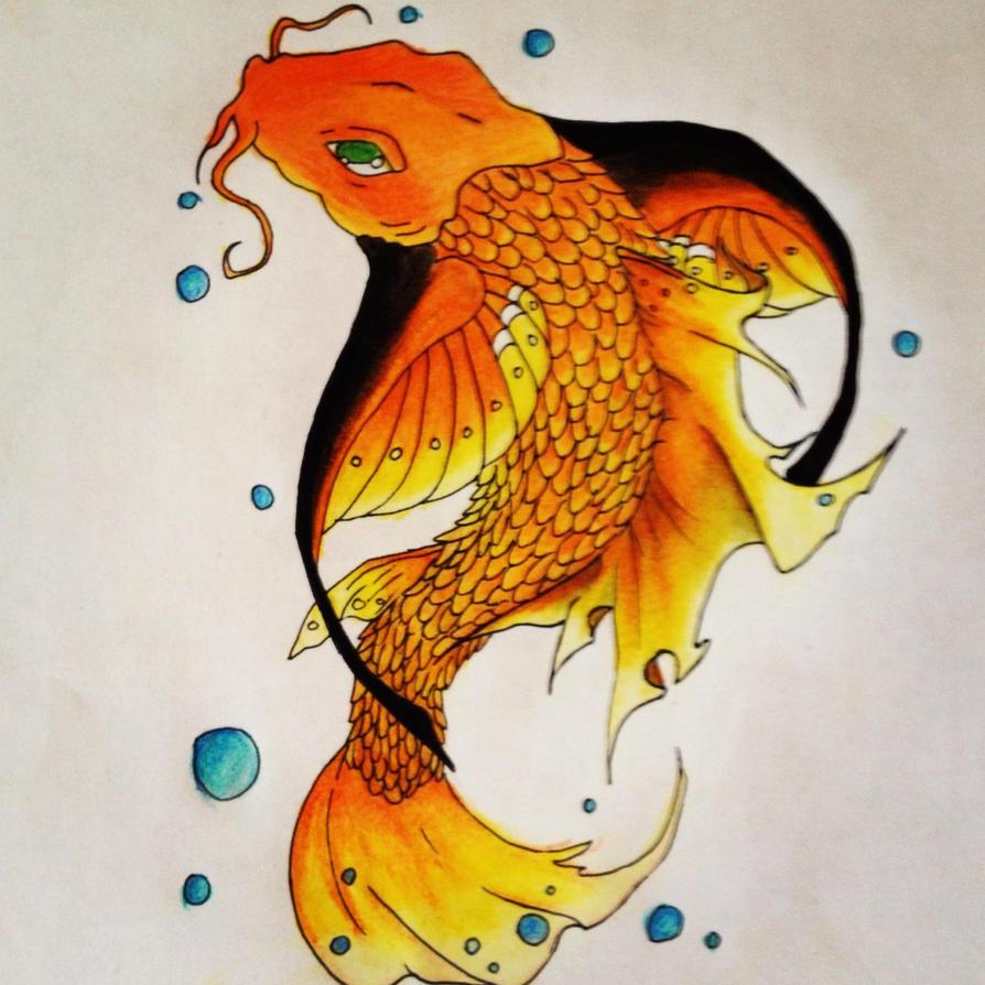 Butterfly koi by allyalkaide1107 on deviantart for Butterfly koi tattoo