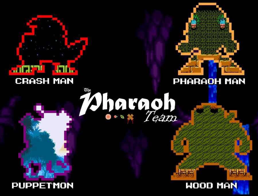 The Pharaoh Team Dark Ages WP by Greasy-LucarioYun