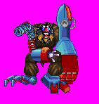 Unnamed Mecha Mandrill by Greasiggy