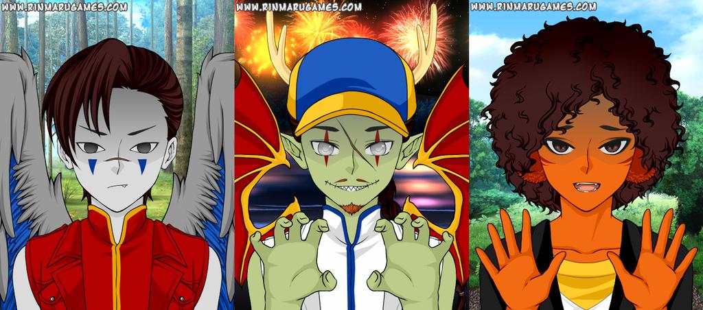 Negatrix Anime Maker by Greasy-LucarioYun