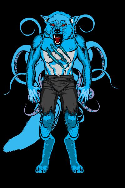 Warwick Wolfsquid Form by Greasy-LucarioYun