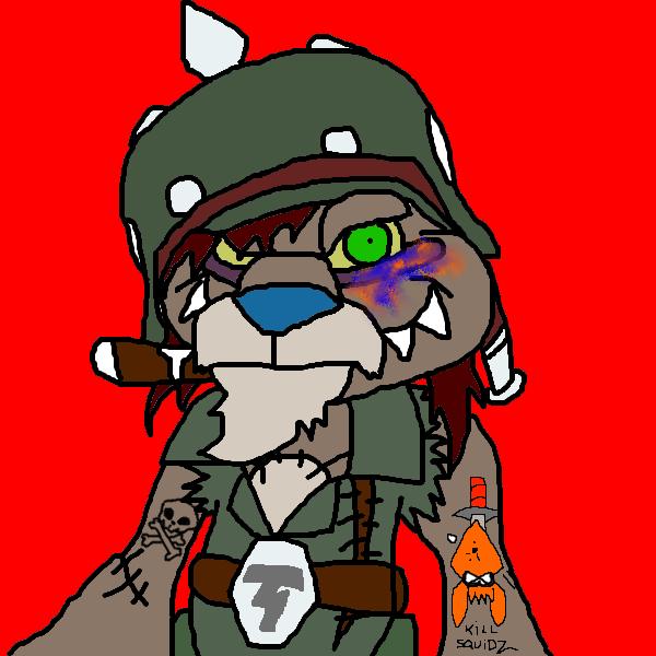 My Tedizona - Barin Von Richthofen by Greasy-LucarioYun