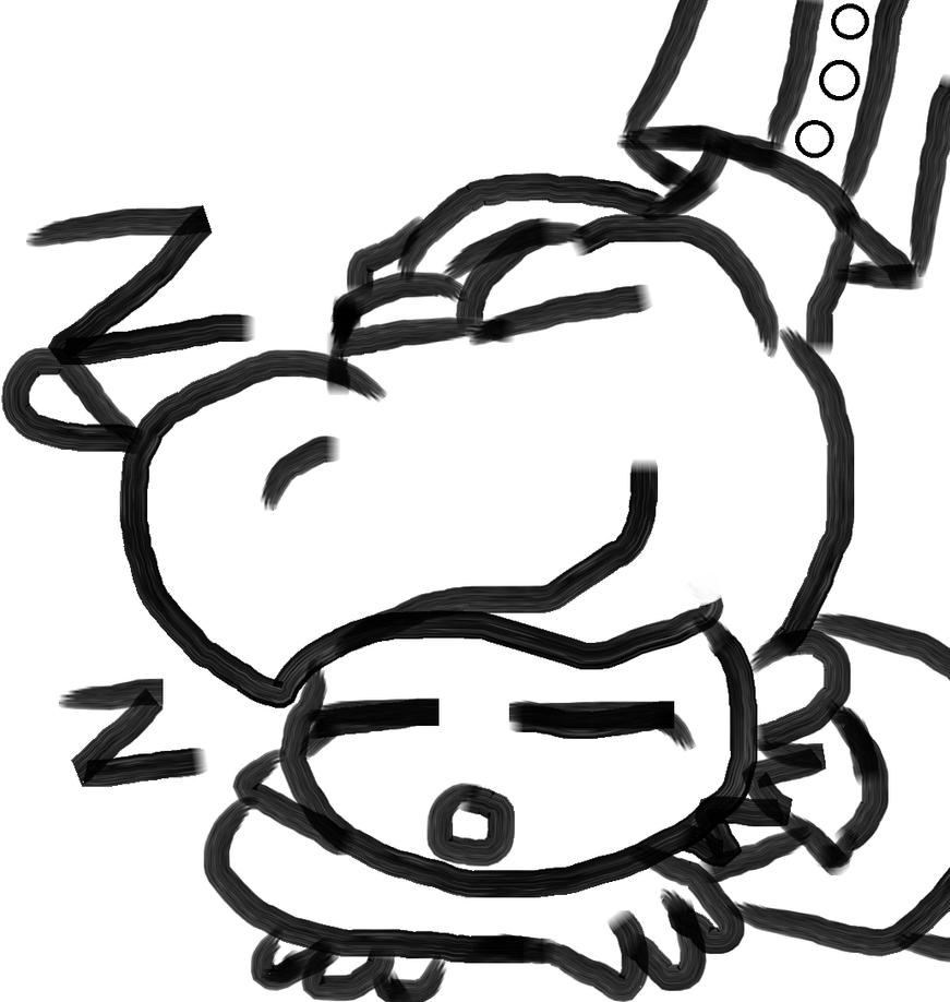 Sleepy Edo by Greasy-LucarioYun
