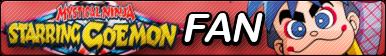 Ganbare Goemon Fan Button