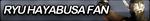 Ryu Hayabusa Fan Button by Ganbare-Lucifer