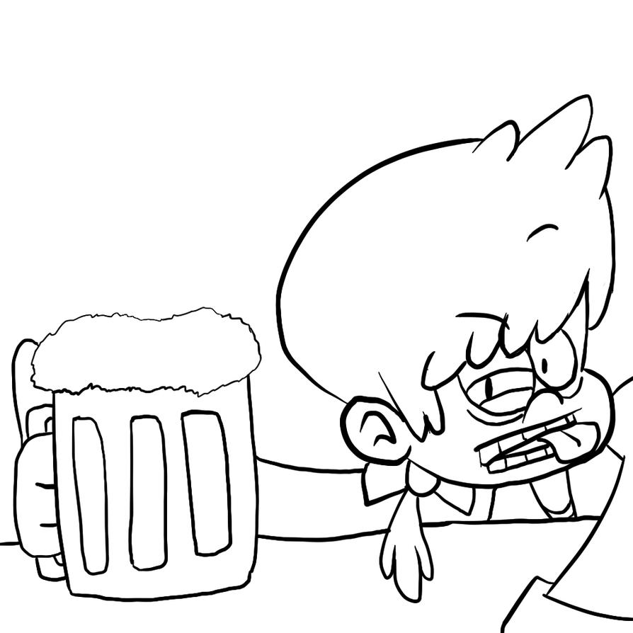 Drunken Tony by Greasy-LucarioYun