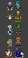 Tetra Crew and Quatro Gang NES