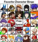 Favorite Character Bingo!