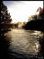 Morning Mist by GeodeLady