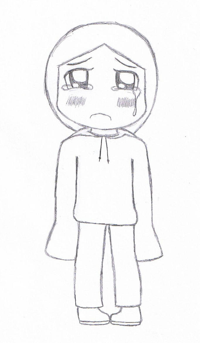 Sad Little Chibi Girl o3o by 69neverxforget69 on DeviantArt