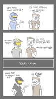 Reaction Comic II by Jspx