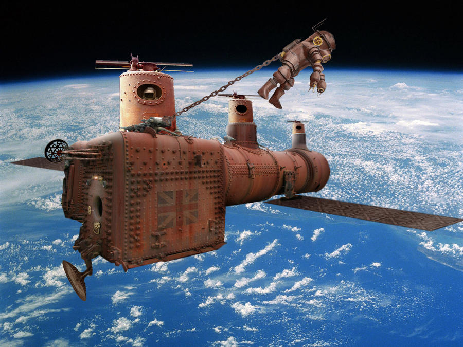 A Guide To Steampunk Space Travel Please Add Your