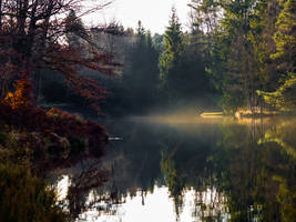 mystic lake by IceManDBB