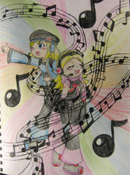 There's Music All Around Us by Nijihamu-can