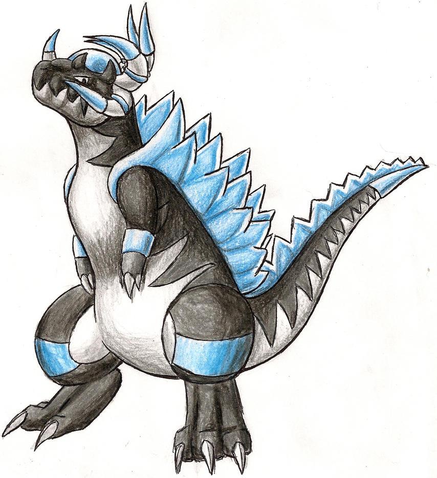 Cranidos s Dark Gene Evo by RijoltPokemon Cranidos Evolution