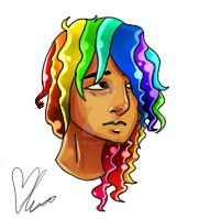 Rainbow Boy by Drugsparr