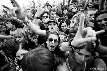 the crowd VI by PatrickWally