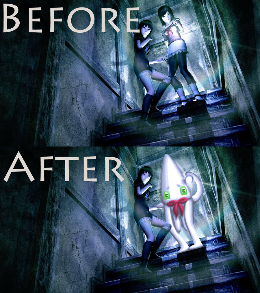 Fatal Frame II: Crimson Butterfly Before and After by KatWynn on ...