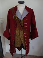Pirate Costume Assembled by DerGrundel