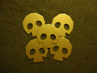 Gold Skulltula Token by DerGrundel