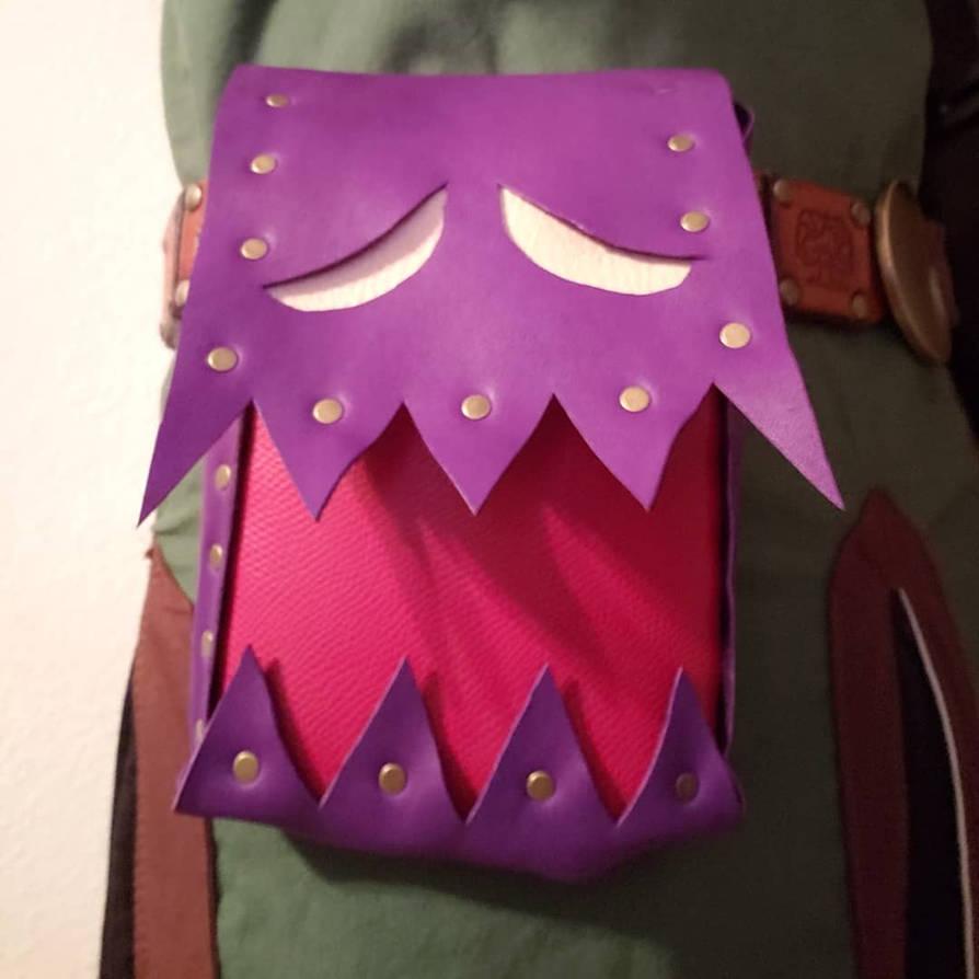Leather Spoils Bag by DerGrundel