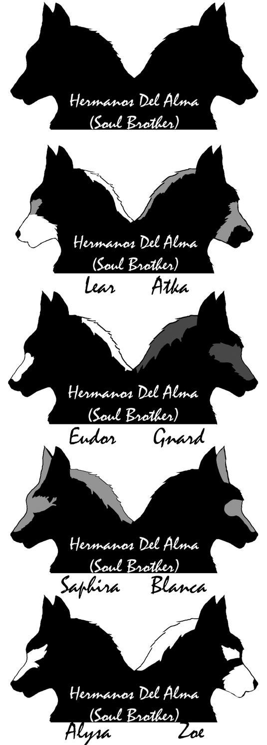 Personajes Hermanos del Alma by alfa306