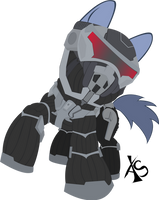 MLP Crysis Crossover by xeno-scorpion-alien