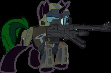 Longshot Halo Sniper by xeno-scorpion-alien
