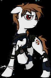 Crossfire's Resident Evil OC by xeno-scorpion-alien